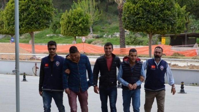 Manavgat'ta Gasp Şüphelileri Tutuklandı