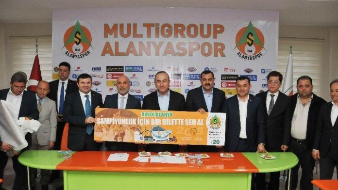Multigroup Alanyaspor'dan Şampiyonluk Piyangosu