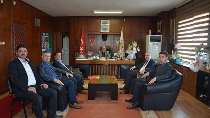 Genel Müdür Başa'dan Marmara Ereğlisi Belediye Başkanı Uyan'a Ziyaret