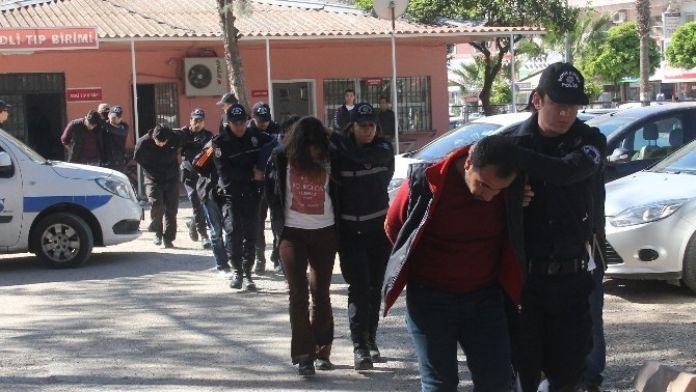 Komiser Yardımcısını Molotofla Yakan PKK'lılar Tutuklandı