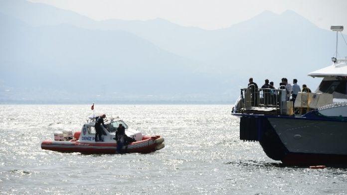 Suriyeli Kadın Vapurdan Denize Düştü