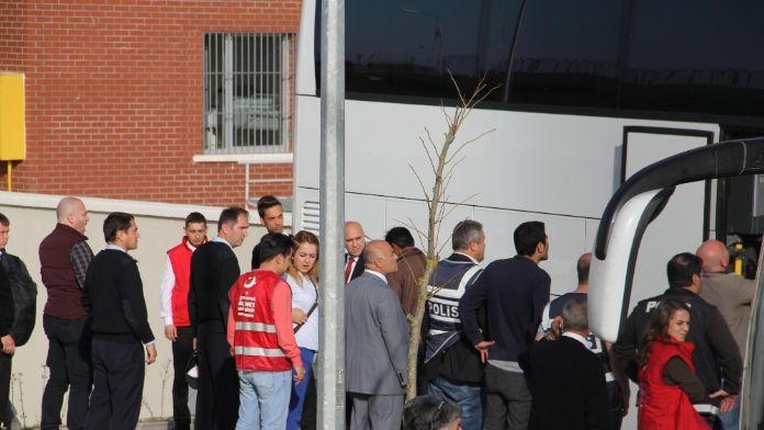 Göçmen Kafilesi Kırklareli'de