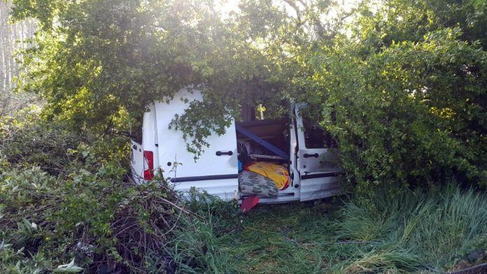 Düzce'de araç yoldan çıktı: 2 ölü, 1 yaralı