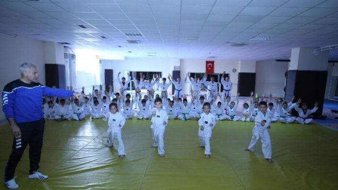 Kepez'de Kuşak Sınavı