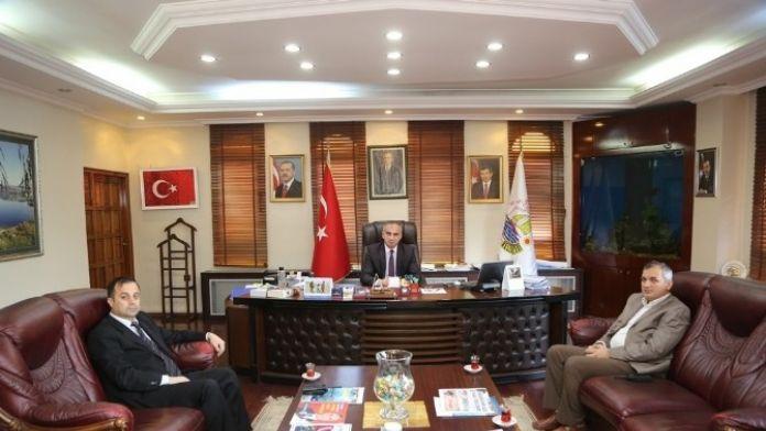 Sapanca Yeni İlçe Emniyet Müdürü Yıldırım'dan Başkan Yılmazer'e Ziyaret