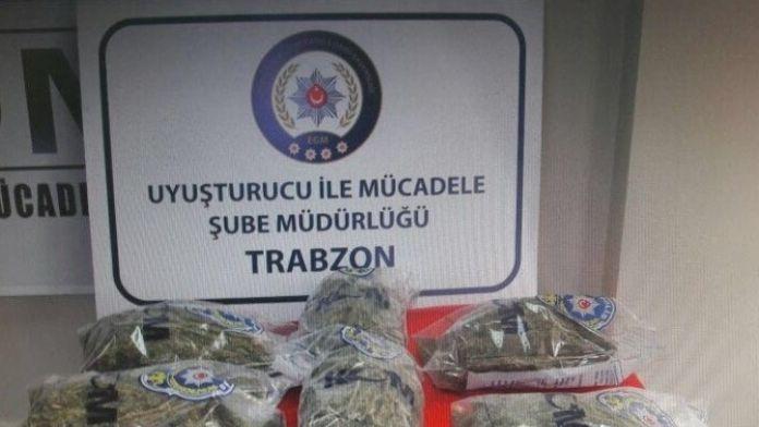 İstanbul'dan Kurye İle Getirilen Uyuşturucu Trabzon'da Yakalandı