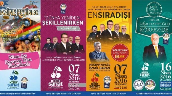 Körfez'de Kültür Ve Sanatla Dolu Nisan Ayı