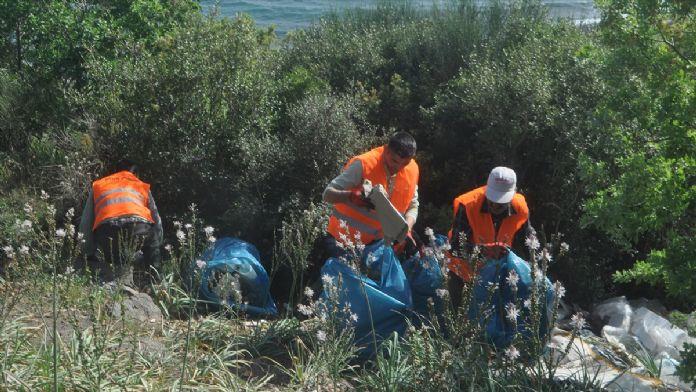 'Umut yolculuğu'ndan geride kalanlar temizleniyor