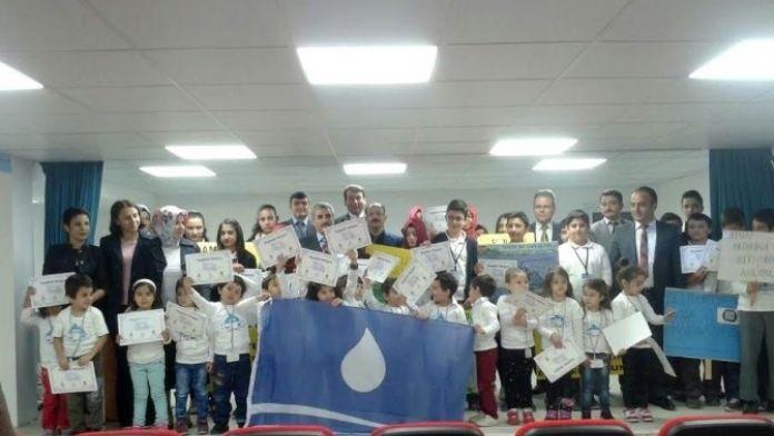 Beyşehir'deki Okullara KOSKİ'den Mavi Bayrak