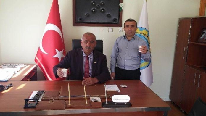 Boğazkale Ziraat Odası'dan 'Süt İçme Kampanyası'