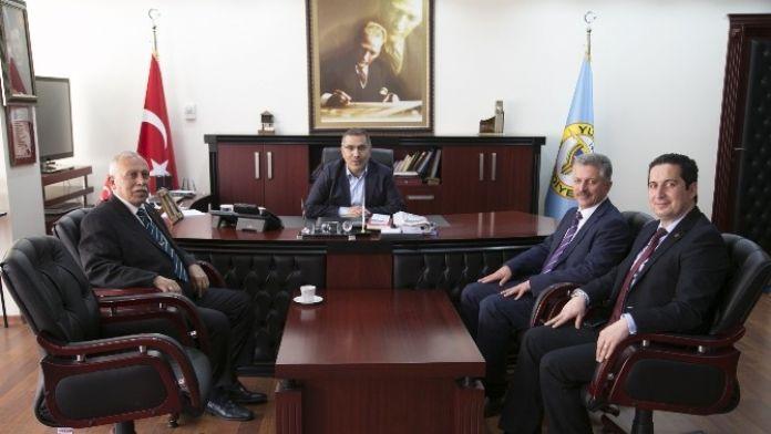 Birlik Vakfı'ndan Başkan Çelikcan'a Ziyaret