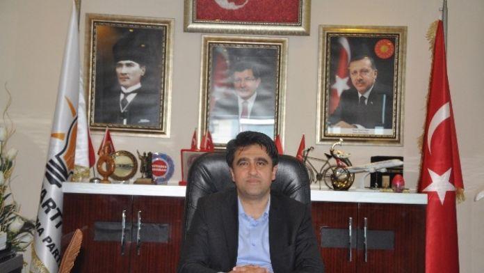 AK Parti'li Ercik, Avukatlar Gününü Kutladı