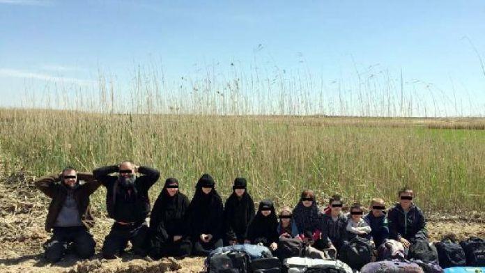Gaziantep'te tutuklanan 4 IŞİD'li, 7 çocukla cezaevine konuldu