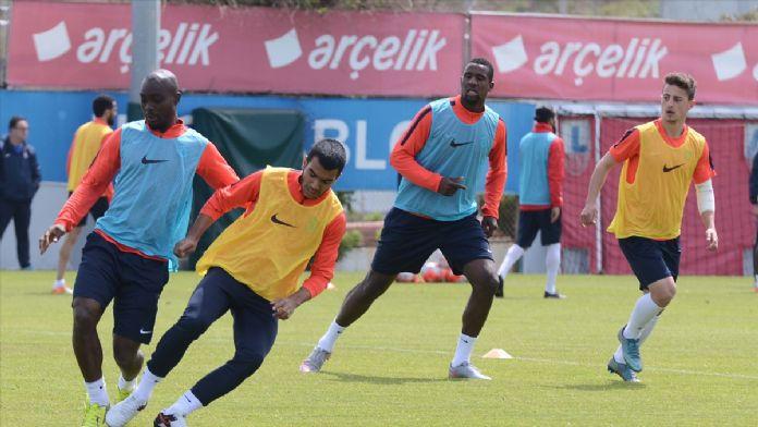 Trabzonspor'da, Medipol Başakşehir maçı hazırlıkları