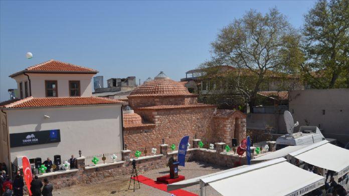 Tarihi 'Tahir Ağa Hamamı' kültür merkezi oldu