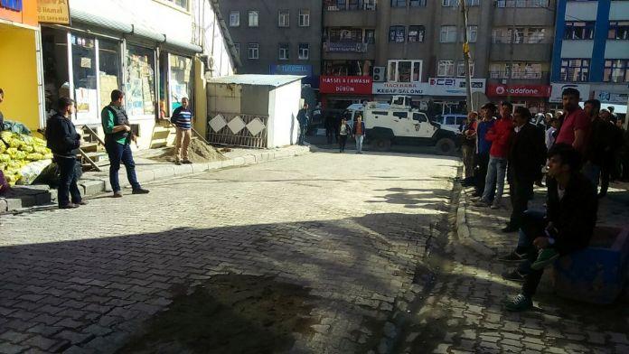 HDP binasında arama !