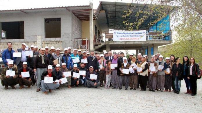 Büyükşehir Belediyesi, Üreticiye 'Modern Yetiştiricilik' Eğitimi Verdi