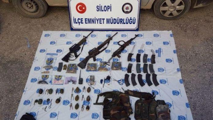 Silopi'de 2 Terörist Öldürüldü, 1 Terörist Yakalandı