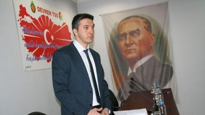 Devrek TSO Tarafından Bilgilendirme Toplantısı Düzenlendi