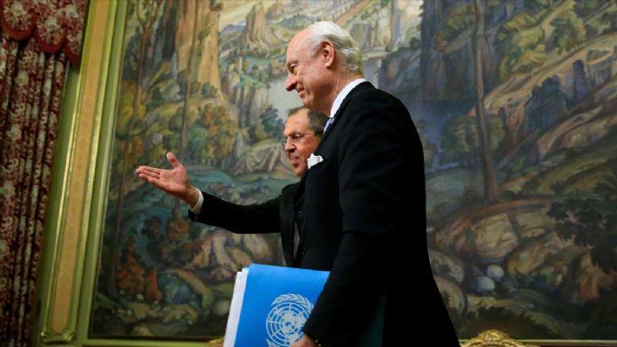 BM Suriye Özel Temsilcisi de Mistura Moskova'da