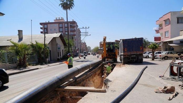 Çavuşlu Mahallesi'nin İçme Suyu Alt Yapısını Yeniliyor