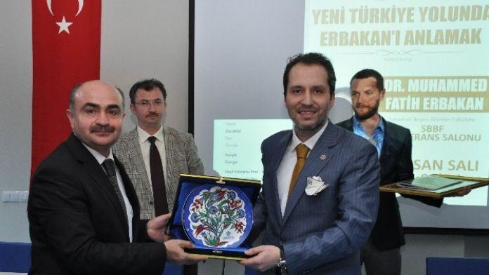 NEÜ'de 'Yeni Türkiye Yolunda Erbakan'ı Anlamak' Konferansı