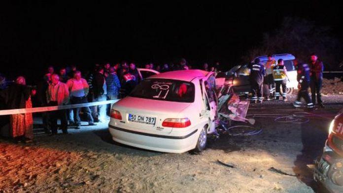 Nevşehir'de kaza: 3 ölü 2 yaralı