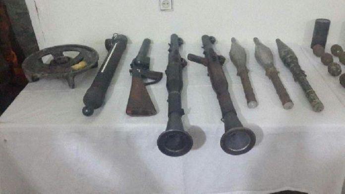 Şemdinli'de PKK cephaneliği ele geçirildi