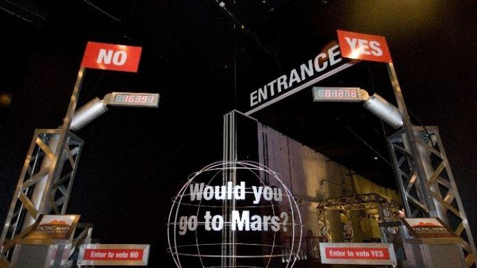 Bursa'da 60 Bin Kişi Mars'a Yolculuk Yaptı