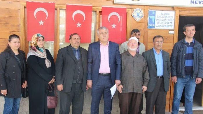 Nevşehir'de STK'lardan Kılıçdaroğlu'na Protesto