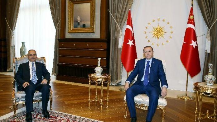 Cumhurbaşkanı Erdoğan Danıştay Başsavcısını Kabul Etti