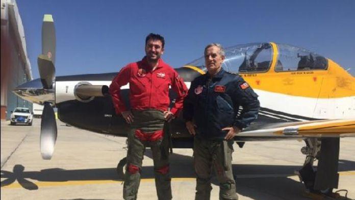 Orgeneral Öztürk Hürkuş'la uçan ilk orgeneral oldu