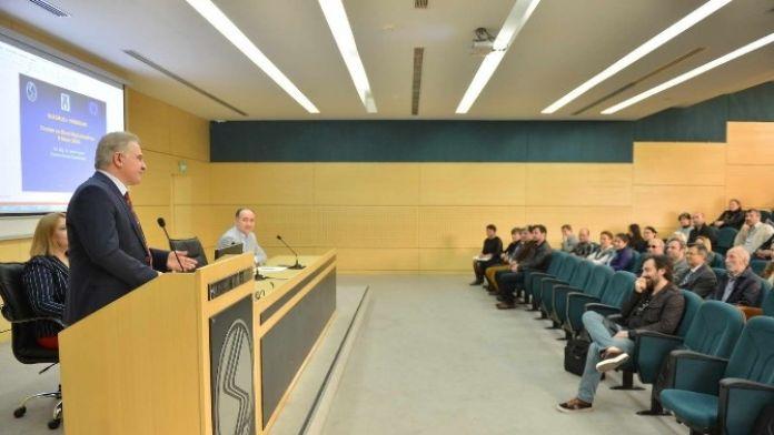 Rektör Elmas: 'Erasmus Ve Farabi'de En İyi Üniversitelerden Biriyiz'