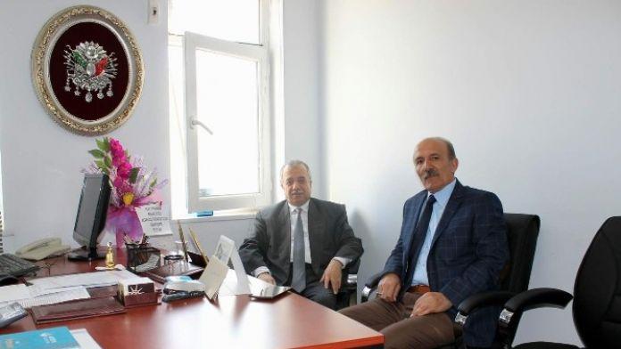 Başkan Yardımcısı Akbaş'a Nezaket Ziyaretleri Sürüyor