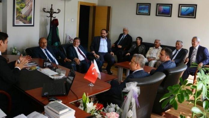 Encümen Üyelerinden Kırıkkale Barosuna Ziyareti