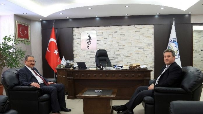 Rektör Güven'den Palancıoğlu'na İade-i Ziyaret