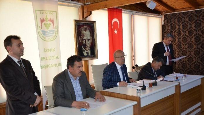 İznik Belediye Meclisi Toplandı