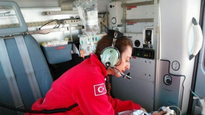 Ambulans Helikopter 11 Aylık Bebek İçin Havalandı
