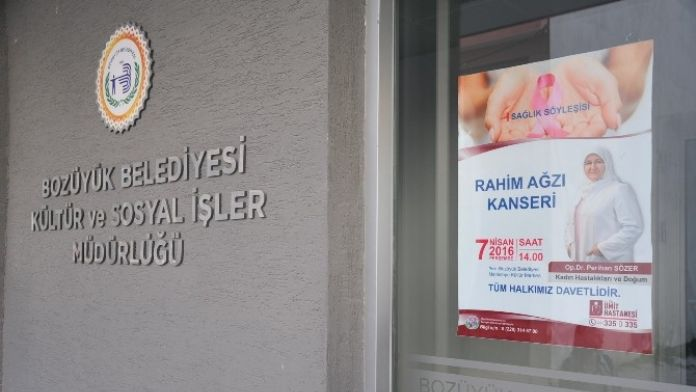 Bozüyük Belediyesi Sağlık Söyleşisi Programları Devam Ediyor