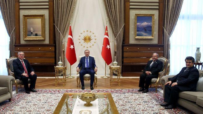 Yargıtay Cumhuriyet Başsavcısı Akarca'yı kabul etti