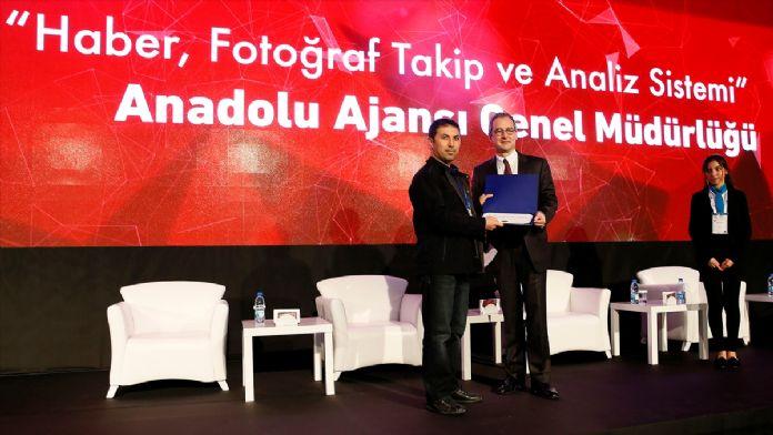 AA'nın Haber, Fotoğraf Takip ve Analiz Sistemi'ne 2 ödül