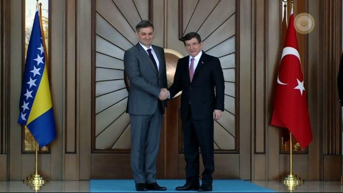 Bosna Hersek Başbakanı Köşk'te