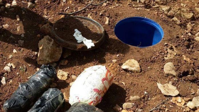 Gaziantep'te roketatar ve patlayıcı ele geçirildi