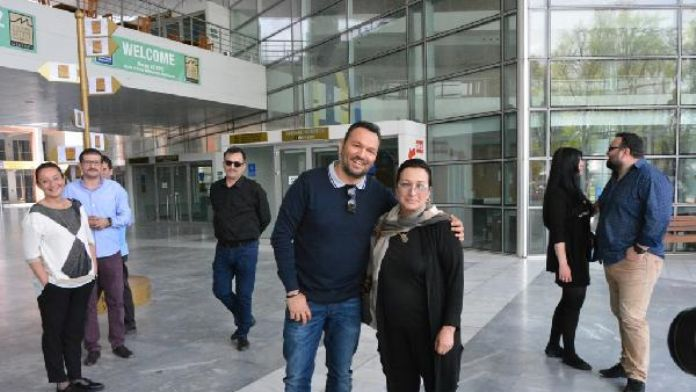 Bursa'da Kemal Sunal sergisi hazırlığı