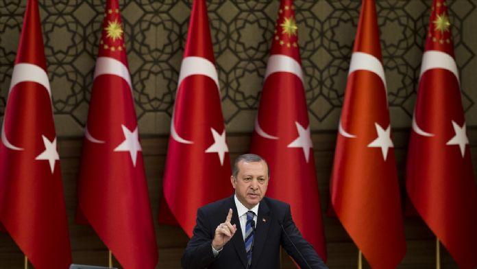 Cumhurbaşkanı Erdoğan polis memurlarını kabul etti
