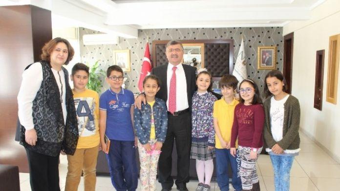 Başkan Akdoğan'dan Çocuklara 'Bisiklet Yolu' Müjdesi
