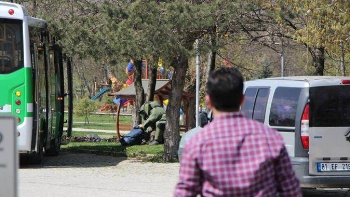 Bolu'da Özel Halk Otobüsünde Şüpheli Çanta Paniği