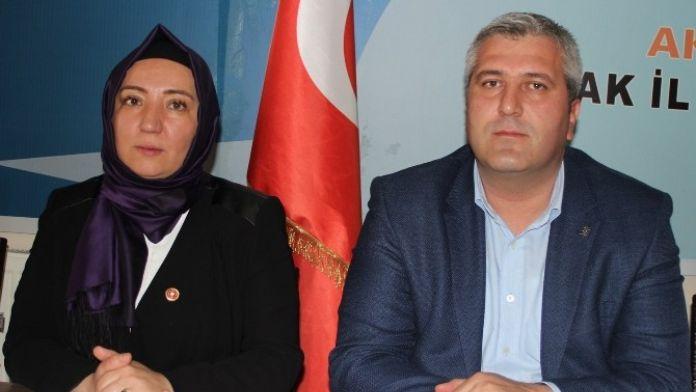 AK Parti Uşak İl Kadın Kolları, Kılıçdaroğlu'nu Kınadı