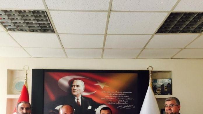 Saadet Partisi'nden Başkan Şanlı'ya Ziyaret