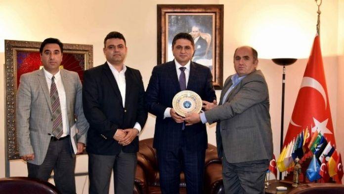 Türk Yerel Hizmet-sen'den Başkan Acar'a Ziyaret